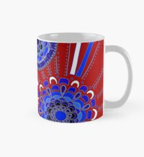 Red, White, and Blue Mug