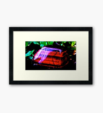 Cat eye /tiger iron  Framed Print