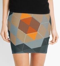 Tiling I Mini Skirt