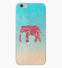 Whimsical Colorful Elephant Tribal Floral Paisley iPhone Case