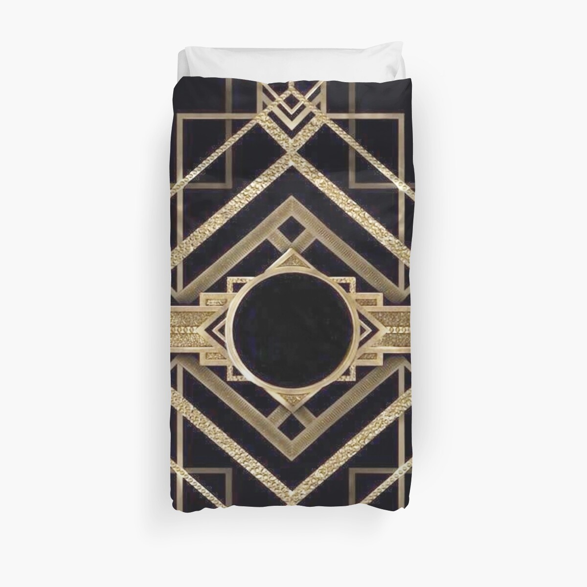Art Deco, Vintage, 1920 Ära, The Great Gatsby, Gold, schwarz, Muster, elegant, schick, modern, trendy von love999