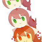 Dango Monika  by darkmagicswh