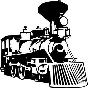 locomotive by huggymauve