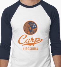 Hiroshima Karpfen Logo Retro Baseballshirt für Männer