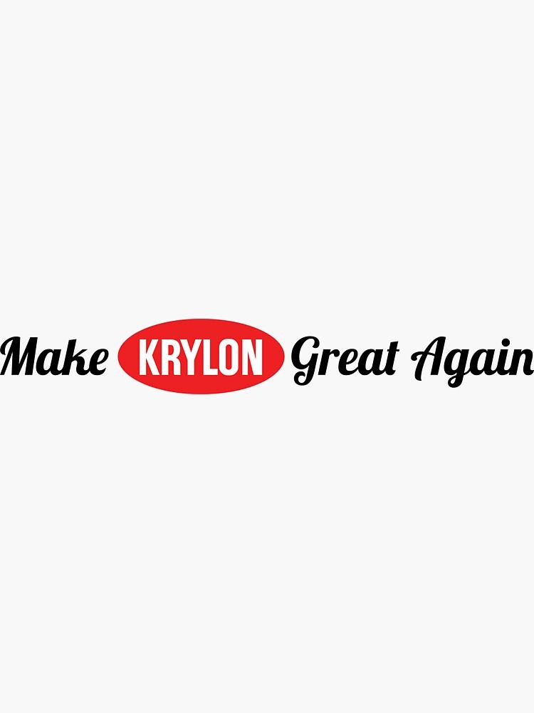 Make Krylon Great Again by VCOBA