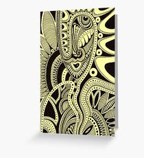 Vulturous Flower Greeting Card