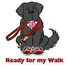 Ready for a Walk! by Christine Mullis
