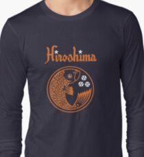 Hiroshima Karpfen Retro Langarmshirt