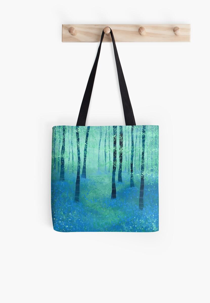 Bluebells, Challock Tote Bag