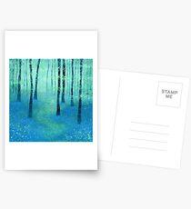 Glockenblumen, Chalock Postkarten