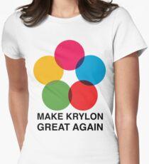 Make Krylon Great Again - Balls Women's Fitted T-Shirt
