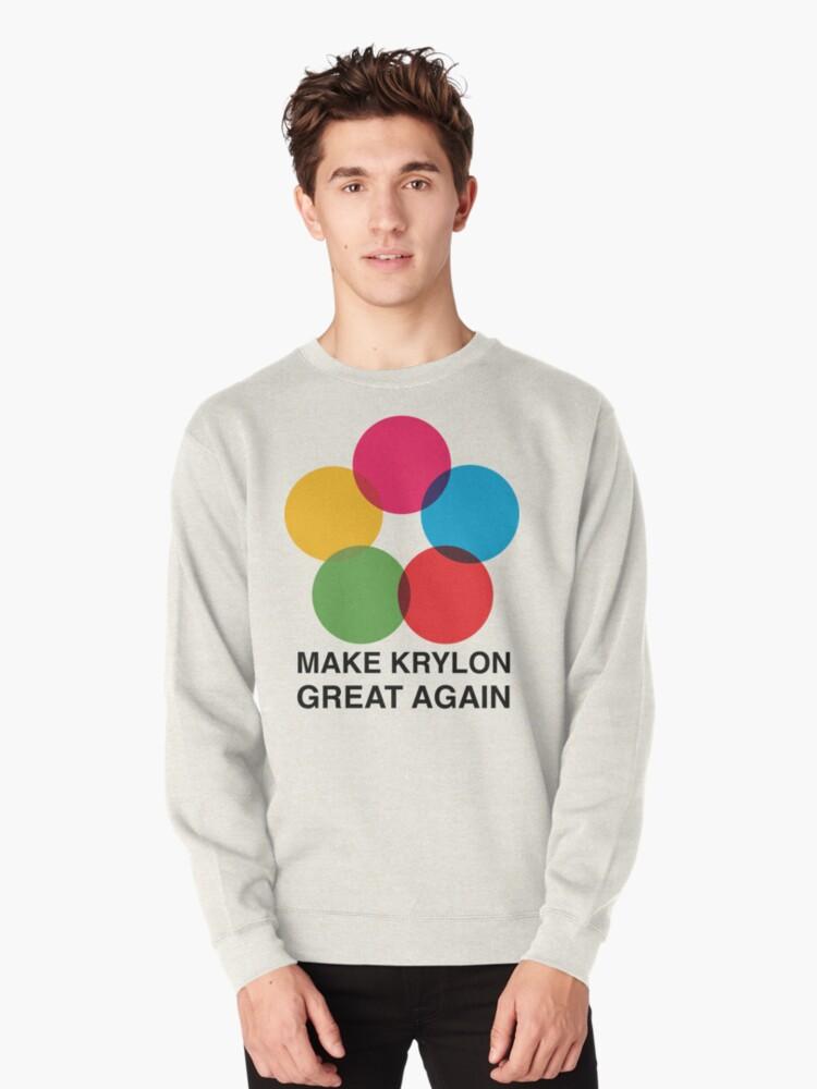 Make Krylon Great Again - Balls Pullover Front