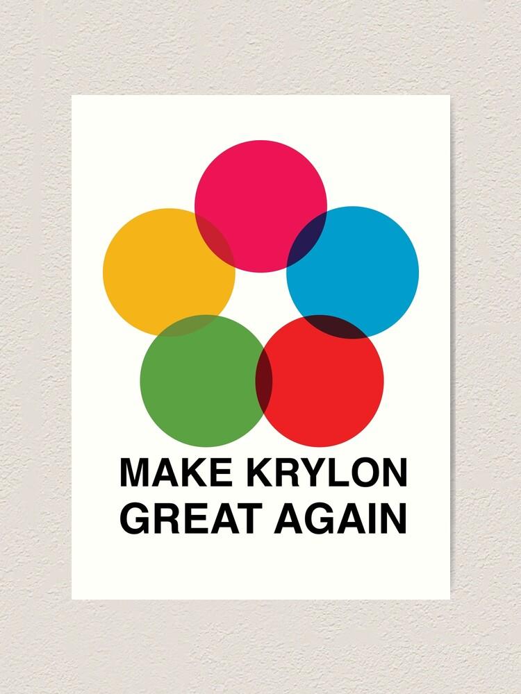 Alternate view of Make Krylon Great Again - Balls Art Print
