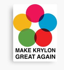 Make Krylon Great Again - Balls Canvas Print