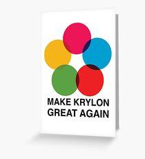 Make Krylon Great Again - Balls Greeting Card