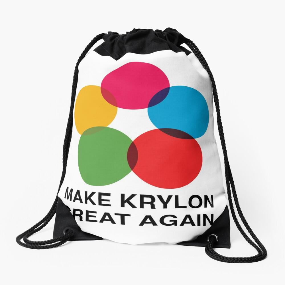 Make Krylon Great Again - Balls Drawstring Bag Front