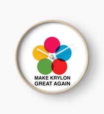 Make Krylon Great Again - Balls Clock