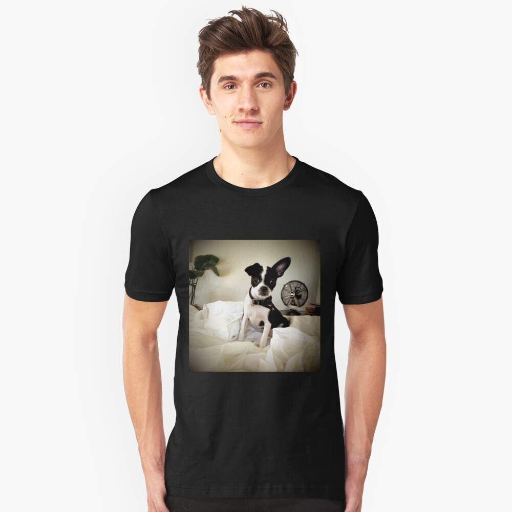 Keep an Ear To the Wind Slim Fit T-Shirt