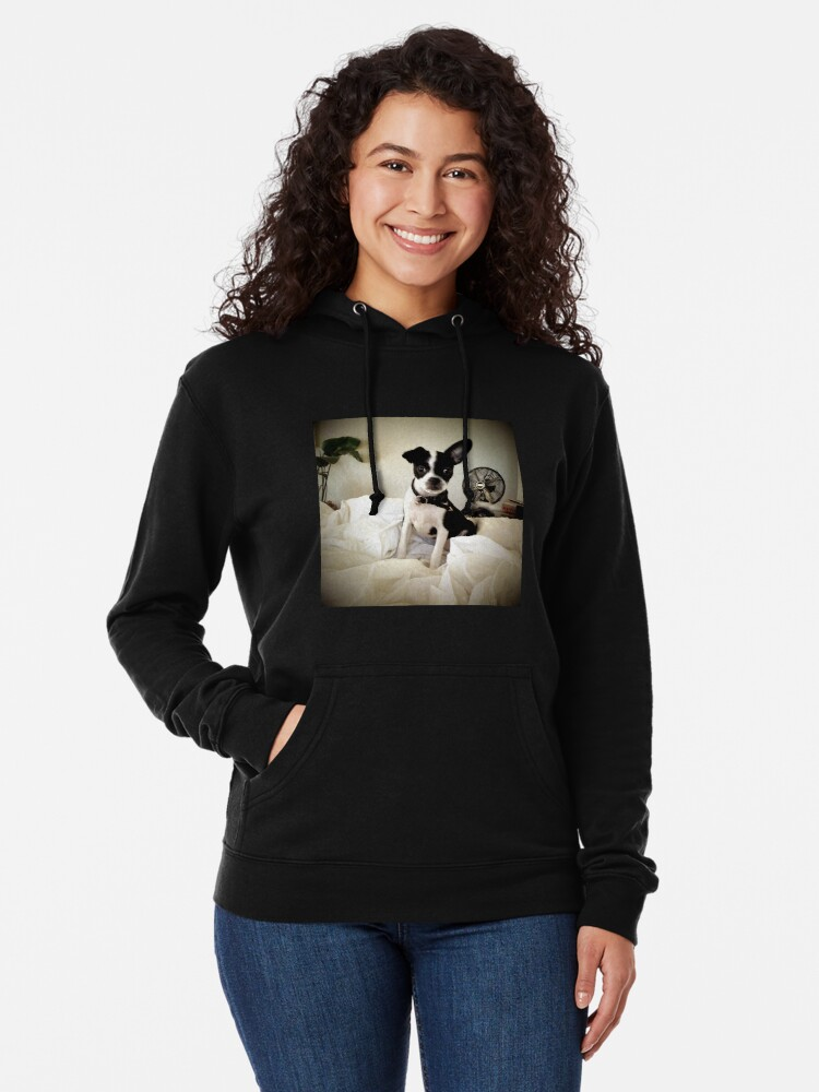Alternate view of Keep an Ear To the Wind Lightweight Hoodie