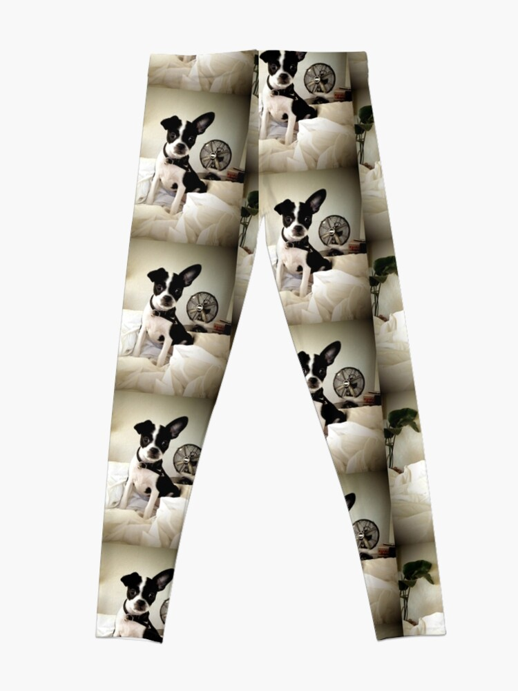 Alternate view of Keep an Ear To the Wind Leggings