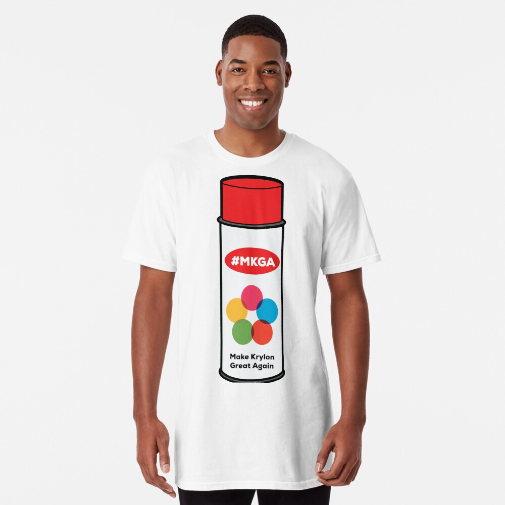 Make Krylon Great Again - Can Long T-Shirt Front