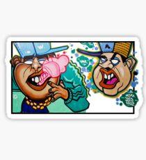 Bubble Bro's Sticker