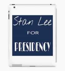 Stan Lee for Presidency iPad Case/Skin