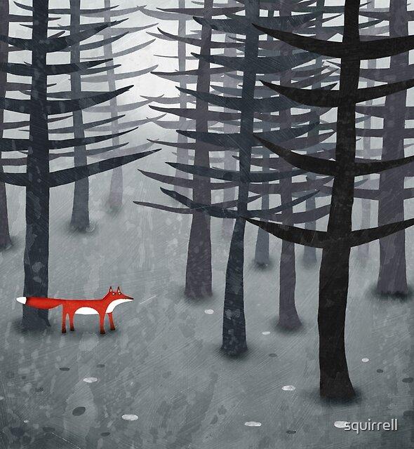 «El zorro y el bosque» de Nic Squirrell