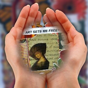 Art Sets Me Free(Computer Edit) by RobynLee