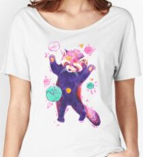 Red Panda - Hands Up! Women's Relaxed Fit T-Shirt