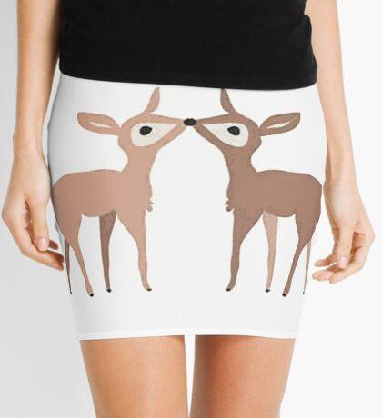 i love you dear Mini Skirt