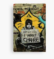 Street Art: global edition # 94 Canvas Print
