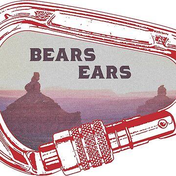 Bears Ears Climbing Carabiner by esskay