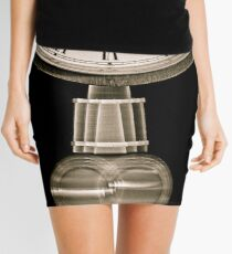 Time flies Mini Skirt