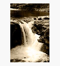 Head Over The Falls Photographic Print