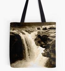 Head Over The Falls Tote Bag