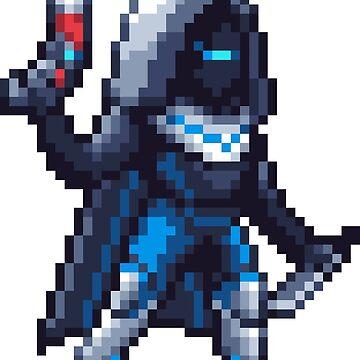 Parade Hunter Pixelart by spykles