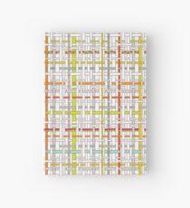 Woven Pen Pattern Hardcover Journal