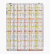 Woven Pen Pattern iPad Case/Skin