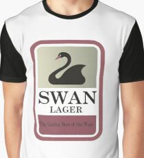 Swan Lager - Made In WA Graphic T-Shirt