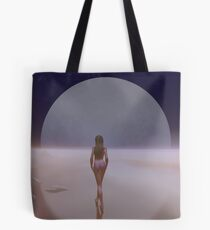 A Moonlit Mirage Tote Bag
