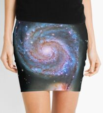 Space M51 Whirlpool Galaxy Mini Skirt