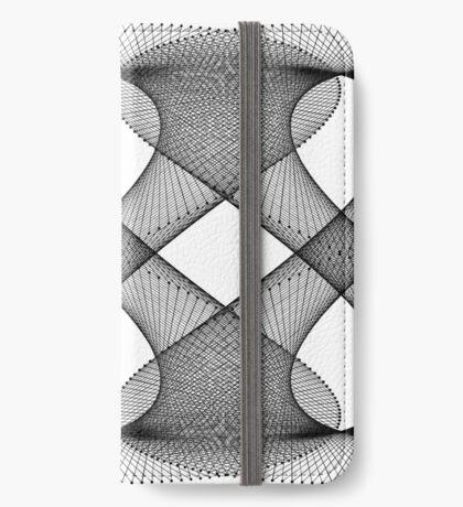 Lissajous XXIX iPhone Wallet