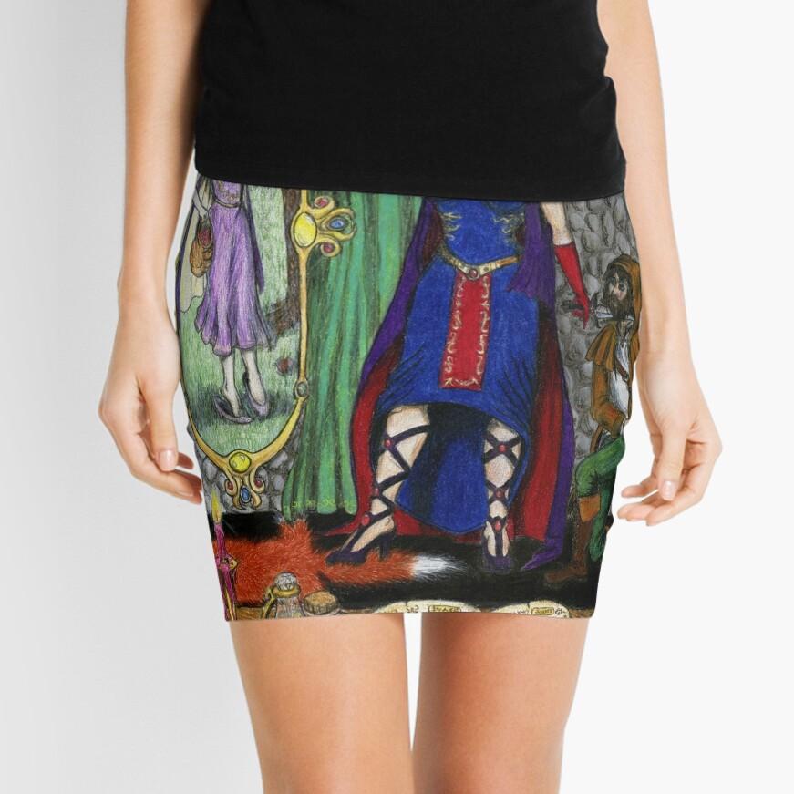 Heart's Desire Mini Skirt Front