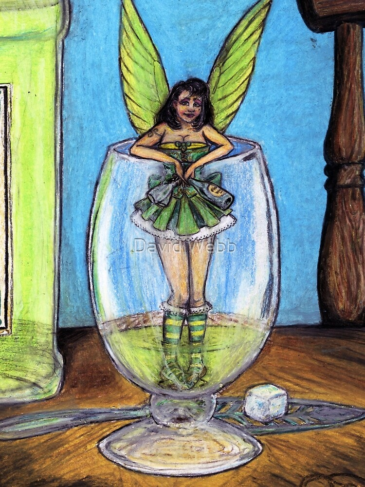 The Green Fairy by GraphiteWeb