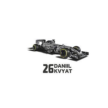 Red Bull Daniil Kvyat Camouflage  by MyAbilityCPO