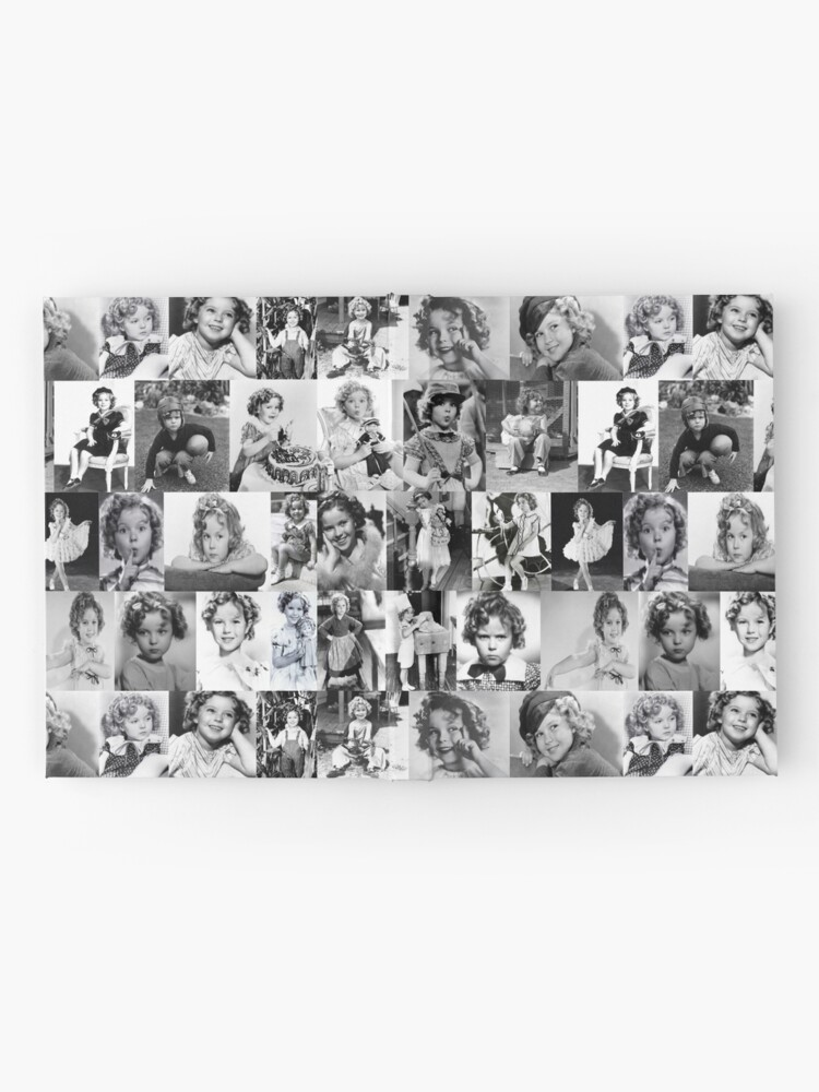 Alternate view of Shirley Temple Collage Hardcover Journal