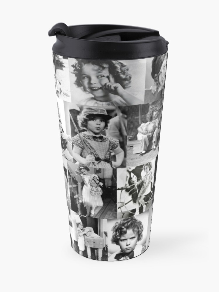 Alternate view of Shirley Temple Collage Travel Mug