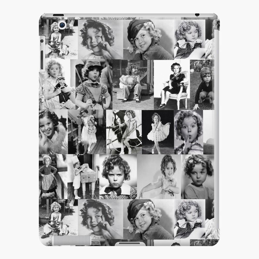 Shirley Temple Collage iPad Case & Skin