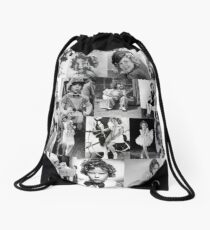 Mochila saco Collage de Shirley Temple